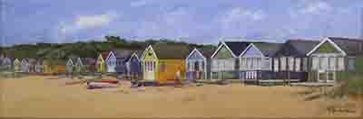 Beach Huts at Mudeford No 2