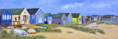 Beach Huts at Mudeford No 1
