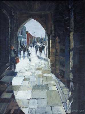 Morning Shoppers at the Bargate