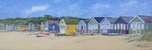 Beach Huts at Mudeford No 2