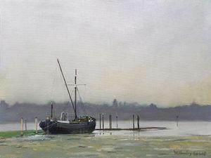 Sailing Barge at Pin Mill