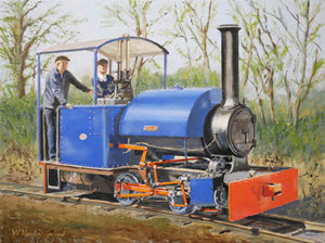 Bagnall Narrow Gauge Locomotive 'Wendy'